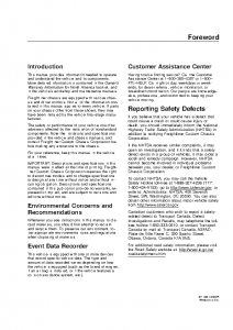 Freightliner 2004 XC_owners manual