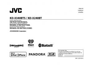 JVC outside radio manual (KD-240BT)