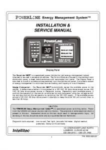 Powerline inside EMS manual